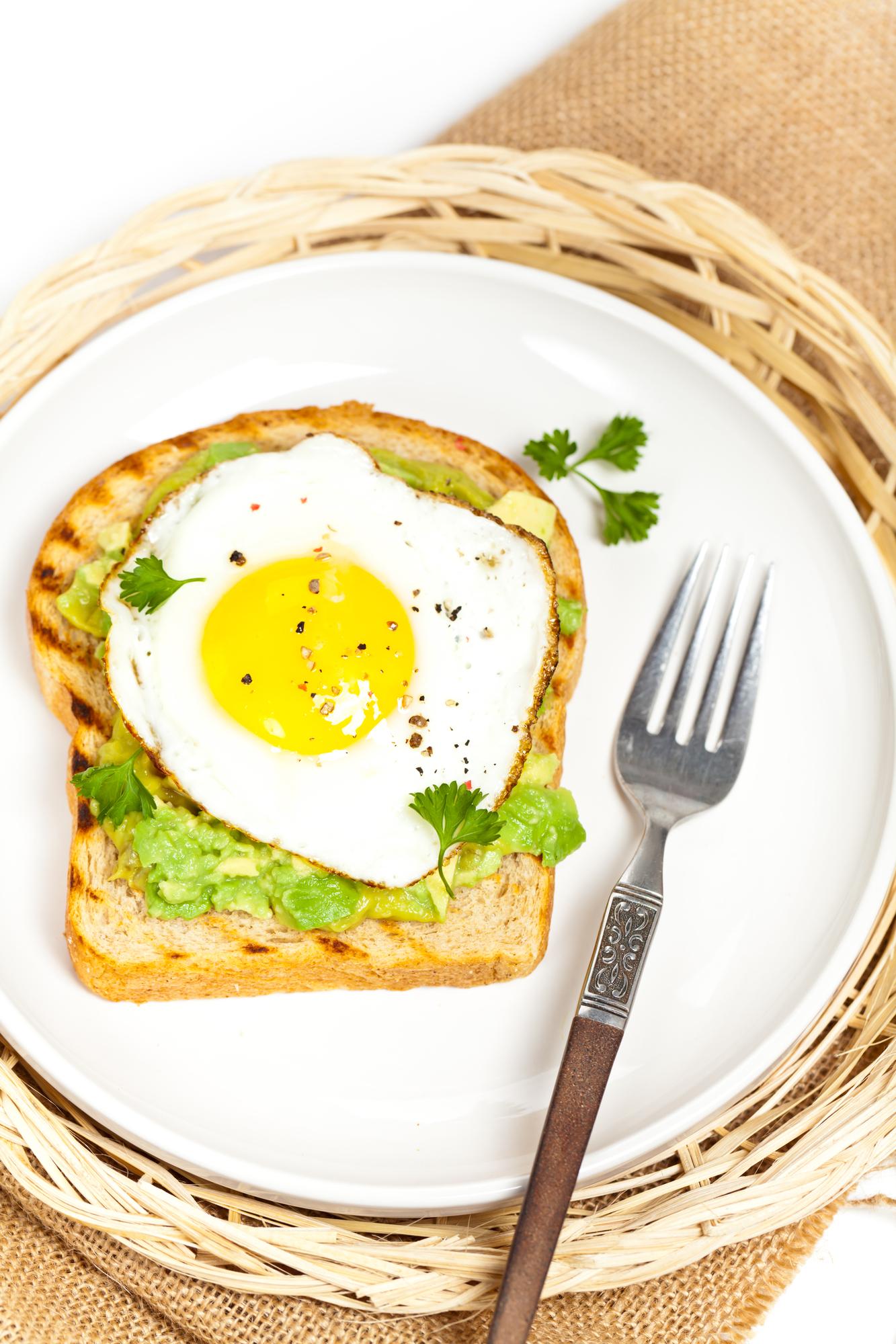 fried-egg-and-avocado-on-toast